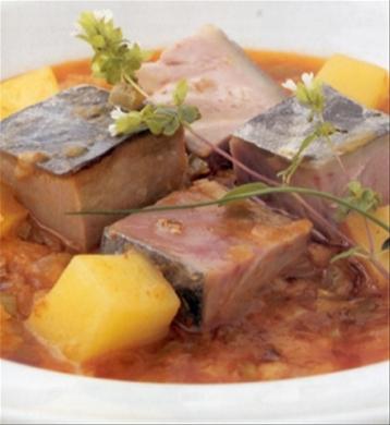 zuppa spagnola marmitako